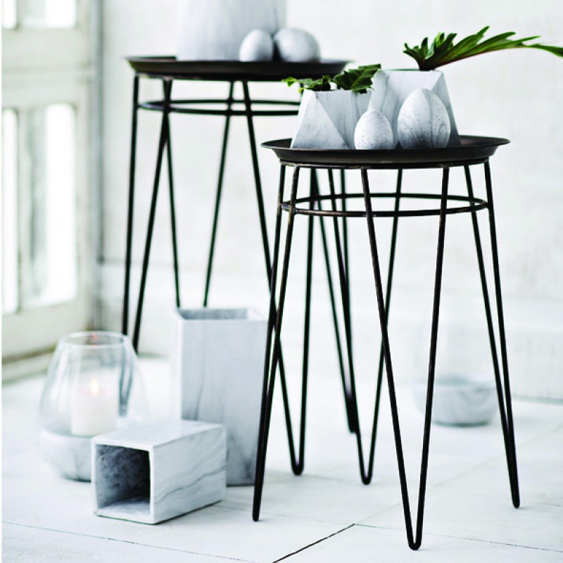 Small lexie gold silver side table for Small gold side table