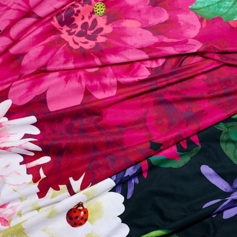 bella rosa 3 piece quilt cover set king. Black Bedroom Furniture Sets. Home Design Ideas