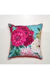 Bella Rosa Cushion - TEAL