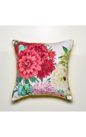 Bella Rosa Cushion - WHITE