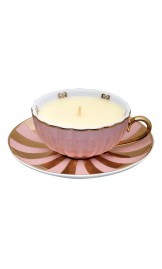 MOR Marshmallow Tea Cup Scented Candle