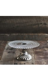 Silver Footed Cake Stand