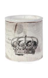 Vintage Crown Candle