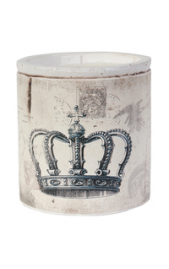 Vintage Crown Candle