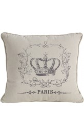Vintage Paris Cushion